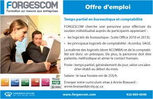 Offre emploi PIF 14-15