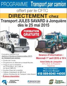 Jules Savard ATE Jonquière mai 2015