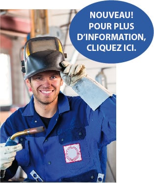 Formation AEP en soudage semi-automatique. Urgent besoin de main-d'oeuvre dans le secteur industriel en soudage.